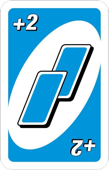 آموزش بازی اونو Uno Cards: جریمه برداشت کارت