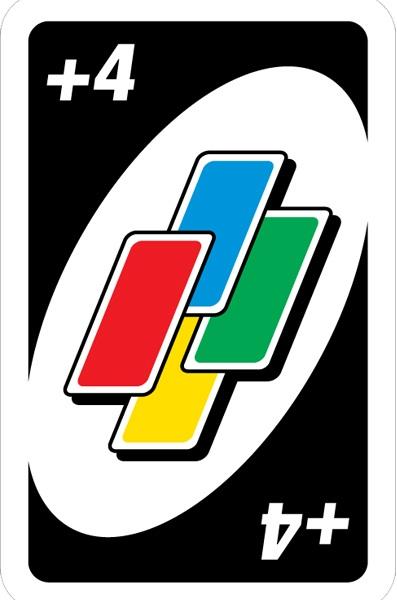 آموزش بازی اونو Uno Cards: کارت وحشی wild drow