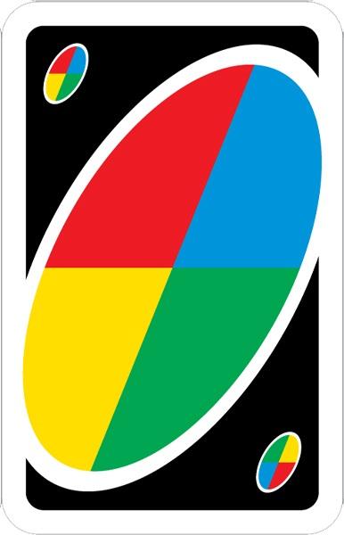 بازی کارتی اونو Uno Cards: کارت وحشی wild
