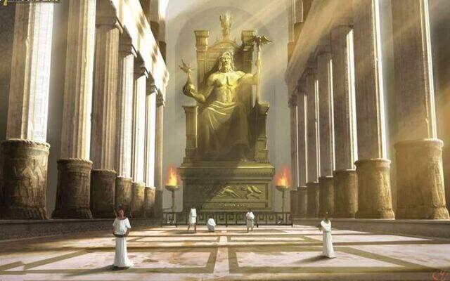 آموزش بازی سون واندرز (عجایب هفتگانه): تندیس زئوس (Statue of Zeus at Olympia)