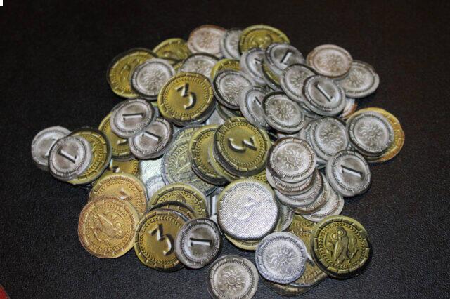 آموزش بازی سون واندرز (عجایب هفتگانه): سکهها