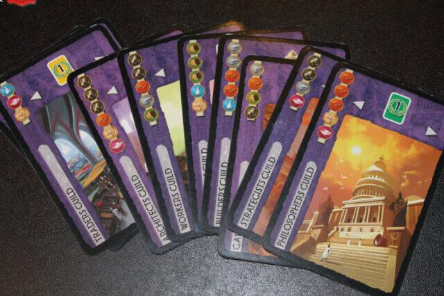 آموزش بازی سون واندرز (عجایب هفتگانه) : کارتهای سازهها