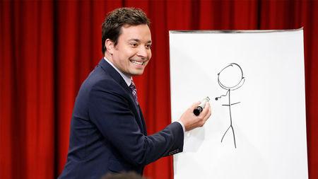 جیمی فلن پیکشنری نقاشی بازی
