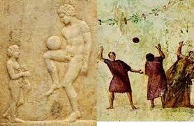 تاریخ فوتبال تاریخچه یونان و روم هارپاستوم فینیندا